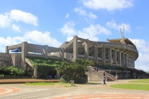 Okinawa Athletic Stadium and the surrounding Okinawa Comprehensive Athletic Park offers many sporting and recreation opportunities