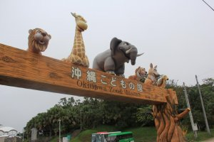 The Okinawa zoo and Kids World feautres more than 200 species, a museum and many hands-on activities