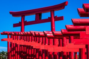 Explore the angles of the weaving gates