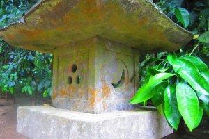 A spirit lamp with an interesting motif