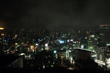 <p>The view from the Tower during the Night</p>