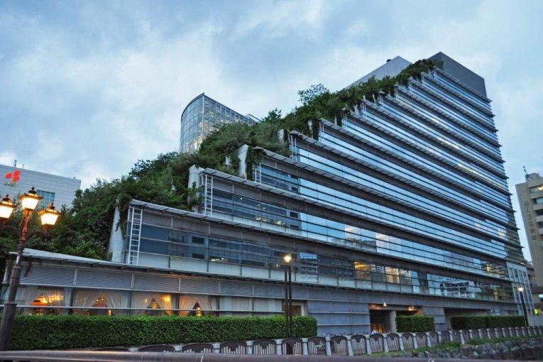 ACROS Building in Tenjin, Fukuoka