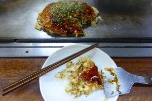 Hasil akhir - Nah, salah satu dari banyak variasi yang tersedia untuk dicoba di Okonomimura