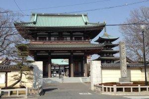 Nitaiji, where Thai and Japanese buddhism is celebrated