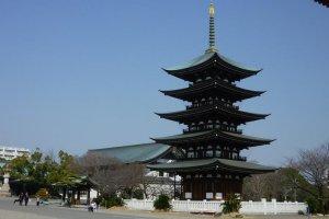 Nitaiji's pagoda