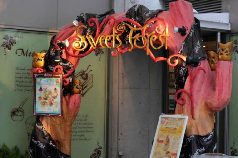 """غابة الحلويات """"جايوجاوكا"""" هي مكان رائع تتوفر فيه كافة أنواع الحلويات"""