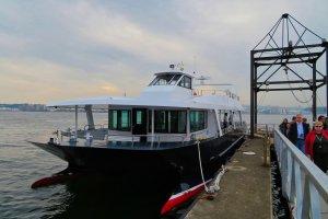 Ferry boat to Sarushima Island