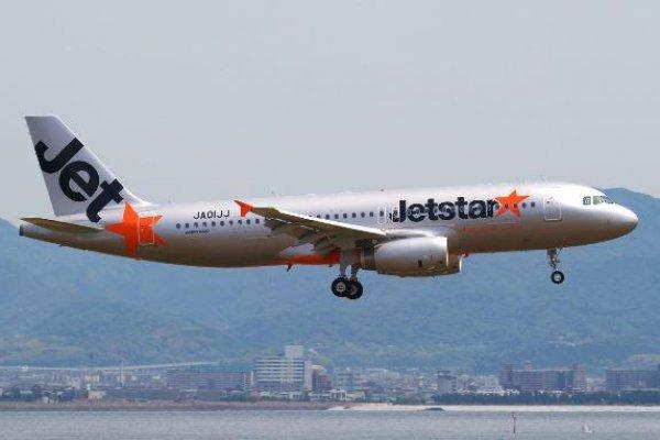 捷星航空日本A320降落