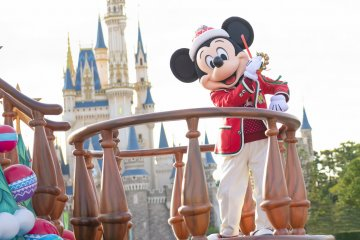 Natal di Tokyo Disneyland