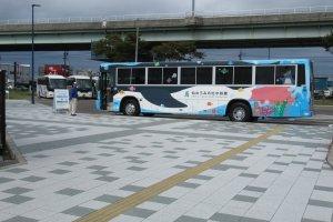 Бесплатный автобус-шатл со станции Накано-сакаэ до аквариума