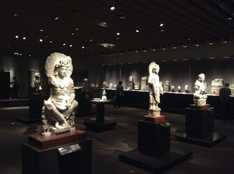 Inside of the Asia Gallery