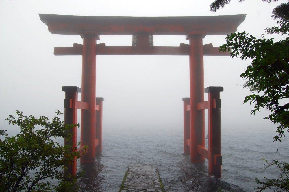 Torii in Hakone