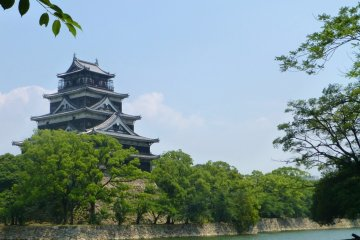 A Walk Around Hiroshima Castle