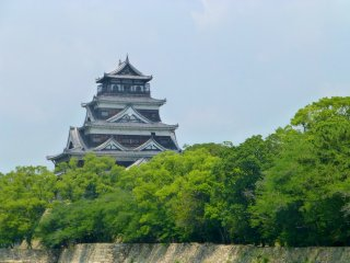 The Hiroshima Castle
