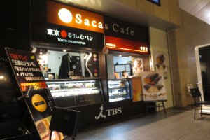 Sacas Cafe with its famous cream custard bread