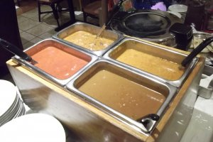 The buffet curries