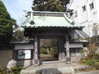 The temple gate