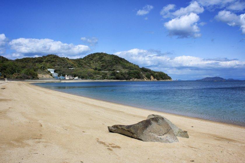 Oura Beach on Hakatajima Island