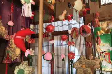 Part of a kasafuku in Sanno Club