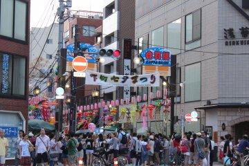 เทศกาลทานาบาตะเมืองอะซาคุสะ