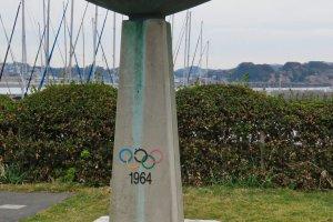 1964 Olympics Yacht Monument