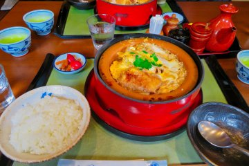 Lunch at Tamura Ginkatsute Hakone