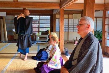 Zazen Meditation at Engakuji Temple
