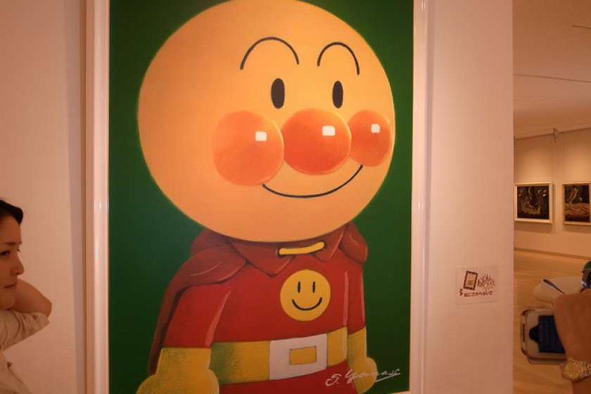The hero, Anpanman.