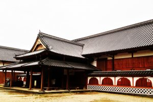 Saga Castle Entrance