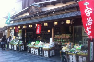 The best tea from Uji come from Wazuka a farming town in the countryside just outside Uji
