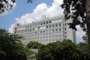 The hotel from the historical Nagasaki Path