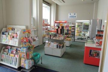 Small shop on the lobby floor