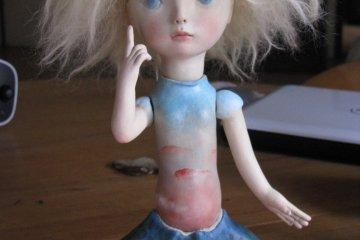 """Кукла """"Утренняя звезда"""", созданная Кими"""
