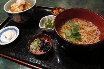 Kashiwa Tendon at Mugendo Omachi Honten Akita City