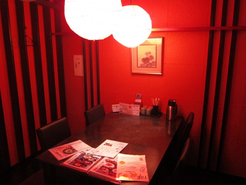 Cosy personal room in the restaurant