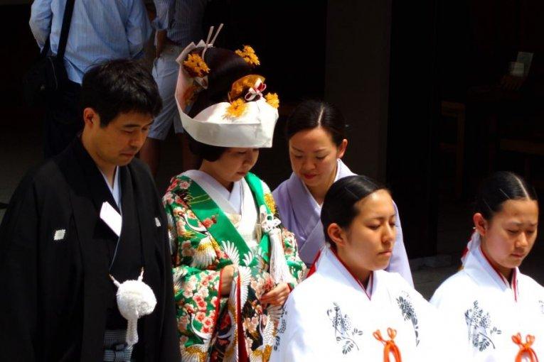 【东京吃喝玩乐】惊艳的日本婚礼