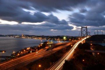 关门大桥夜景