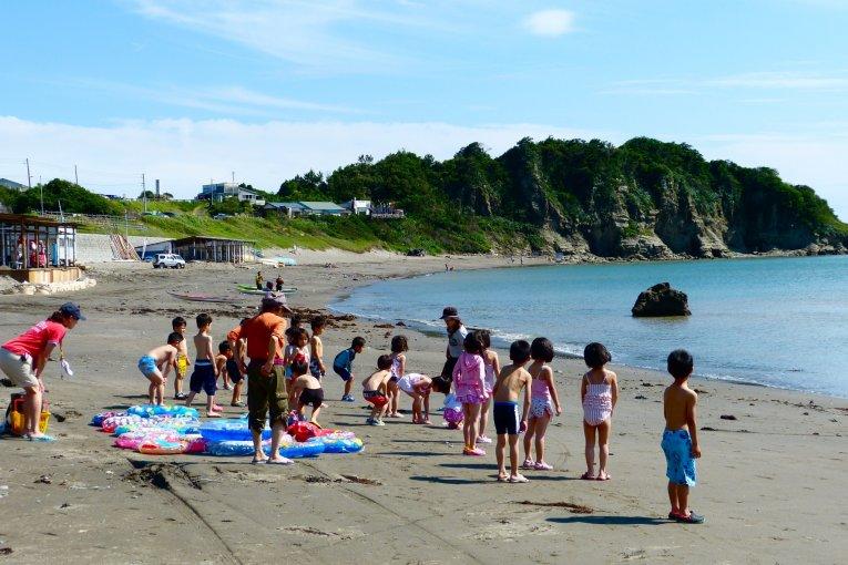 葉山 長者ヶ崎海水浴場