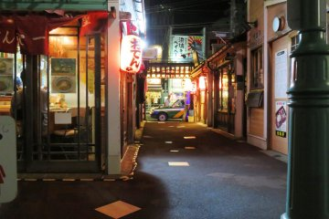 Daimon Yokocho is just 10 minutes walk from Hakodate Station