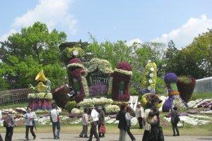 Сад цветов в Хамамацу