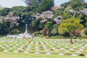 Pemakaman Inggris dekat Taman Hodogaya