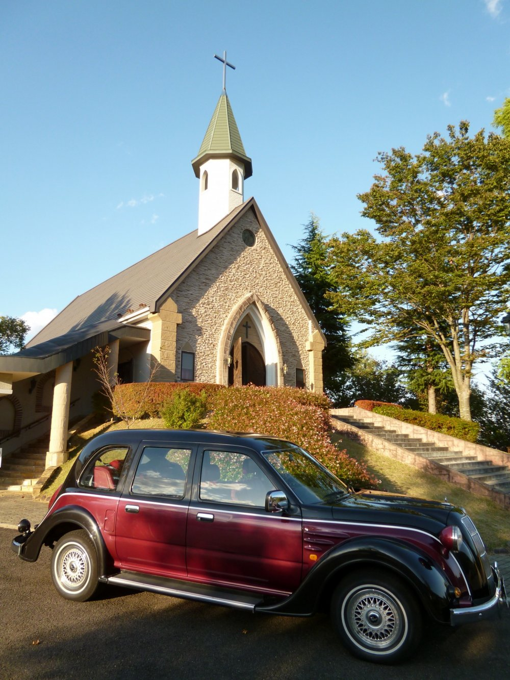 Many Japanese get married at St. Anna's Church