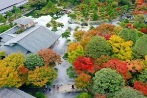 Climate controlled Yuushien has something to see in every season