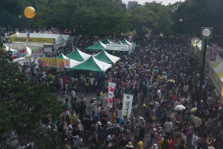 Lễ hội Brazil: rất lớn!
