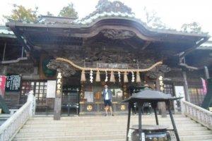 Un temple vers le milieu