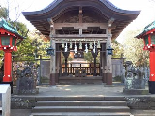 Okutsu no Miya, the original shrine of the island