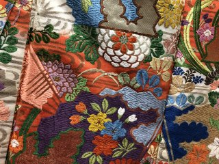 Détail sur un Kimono