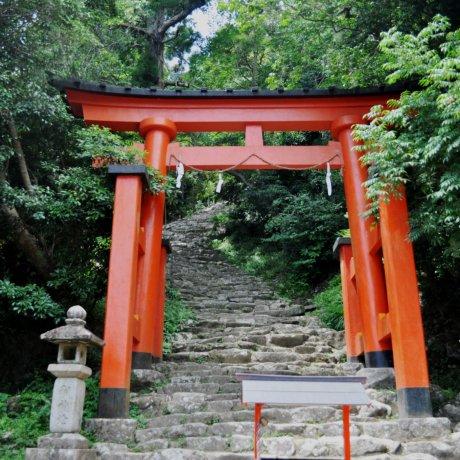 Ascension to Kamikura Shrine