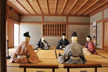 Samurai beat their brains with poetry