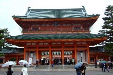 平安神宫,京都的灵魂所在